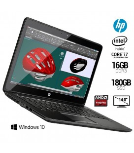 "HP ZBOOK 14 G2 MOBILE WORKSTATION | INTEL CORE i7 5500U | 14"" HD+ 