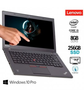 "LENOVO THINKPAD T450 | INTEL CORE i5 5300U | 14"" HD+ TÁCTIL 