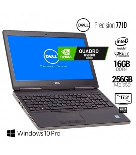 "DELL PRECISION 7710 | INTEL CORE i7 6820HQ | 17.3"" FHD IPS 
