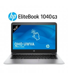 "HP ELITEBOOK FOLIO 1040 G3 | INTEL CORE i5 6200U | 14"" QHD (2560 x 1440) TÁCTIL 