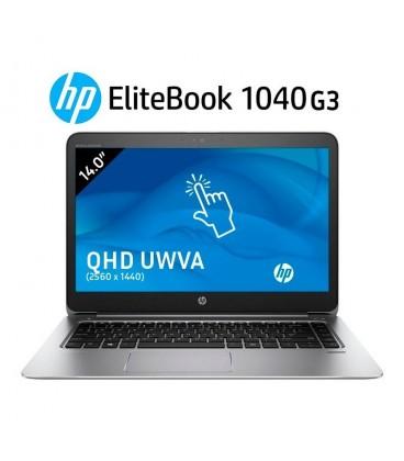 "HP ELITEBOOK FOLIO 1040 G3 | INTEL CORE i5 6200U | 14"" QHD ( 2560 x 1440 ) TÁCTIL | 8GB DDR4 | 256GB SSD SATA M.2 | EXLEASING"