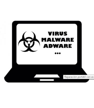 Limpieza virus /malware mantenimiento y optimización Sistema operativo.